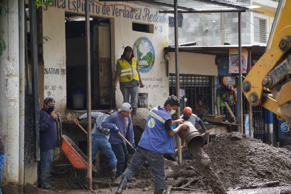 Guatemala e Izabal los departamentos más afectados por lluvias de últimas 24 horas