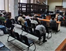 Recientemente seis militares en situación de retiro fueron ligados a proceso penal por el Caso Diario Militar, que señala nuevos crímenes durante el Conflicto Armado Interno. Fotografía: Prensa Libre (Edwin Pitan).