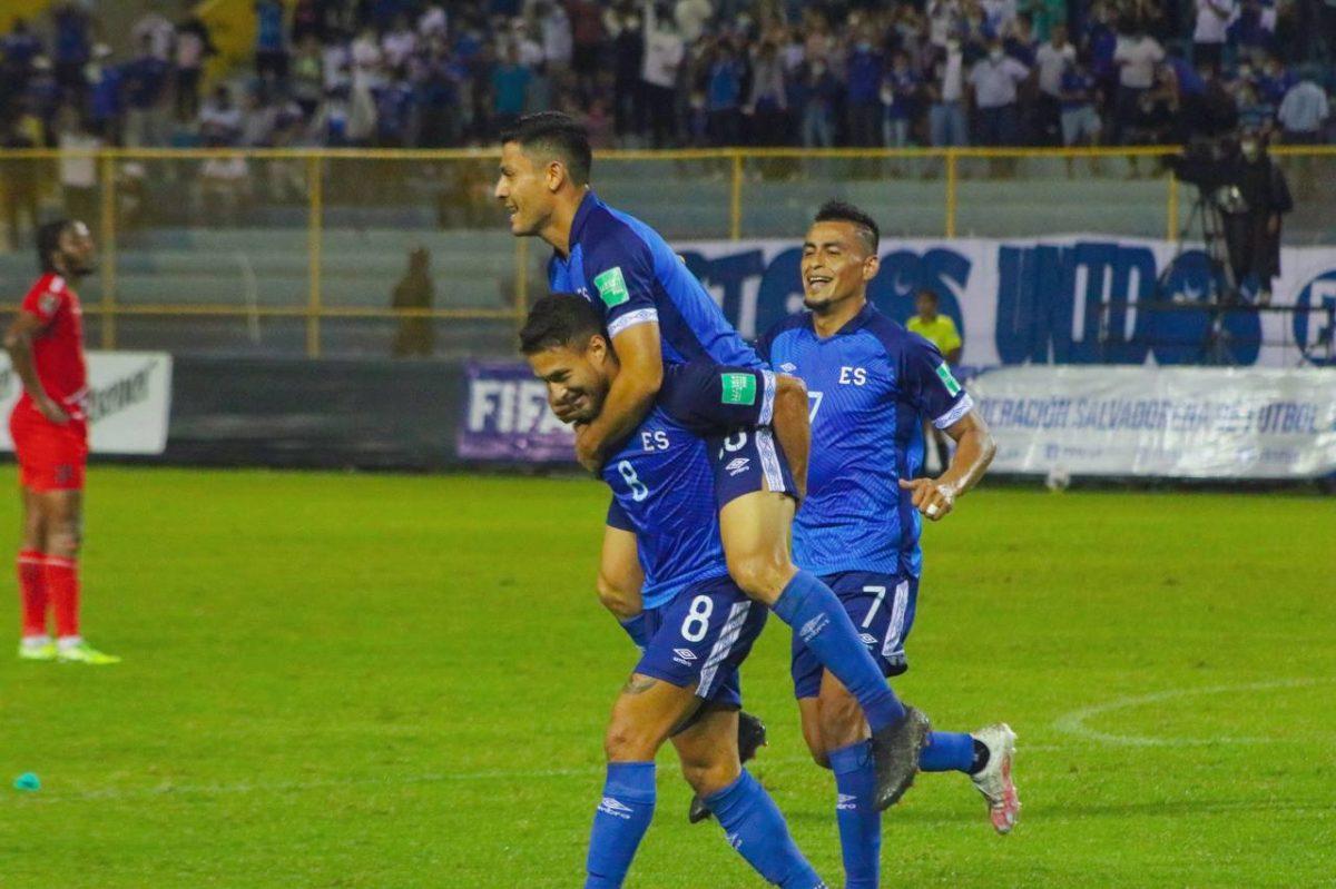 El Salvador derrota a San Cristóbal y Nieves y dice presente en la octogonal