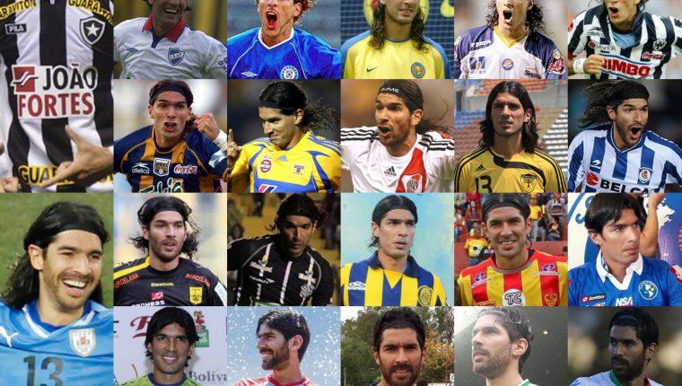 El Loco Abreu fue el jugador que más equipo ha integrado en el mundo. (Foto Redes).