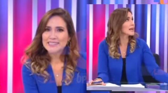Video: esta fue la reacción de una conductora que entrevistaba en vivo cuando se produjo el fuerte temblor en Perú
