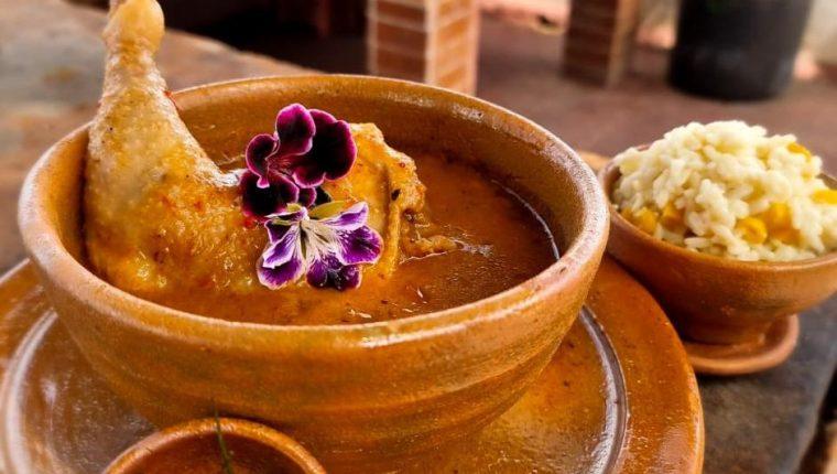 Pinol festivo de San Juan Sacatepéquez