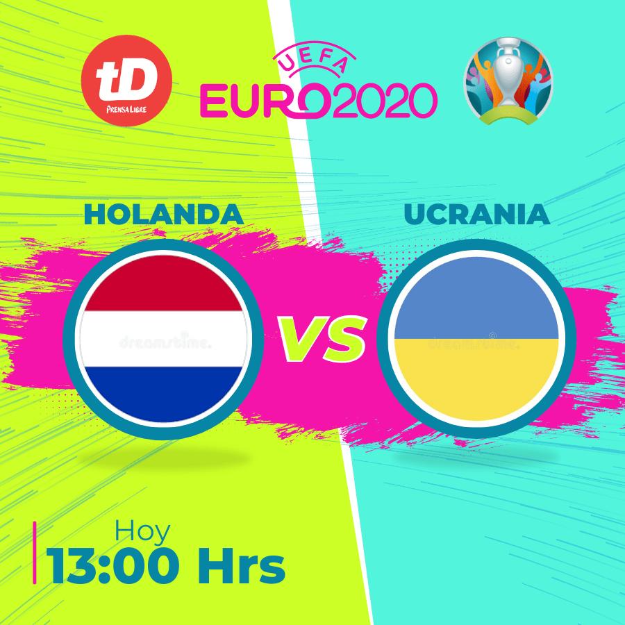 Estadísticas del juego de Holanda contra Ucrania