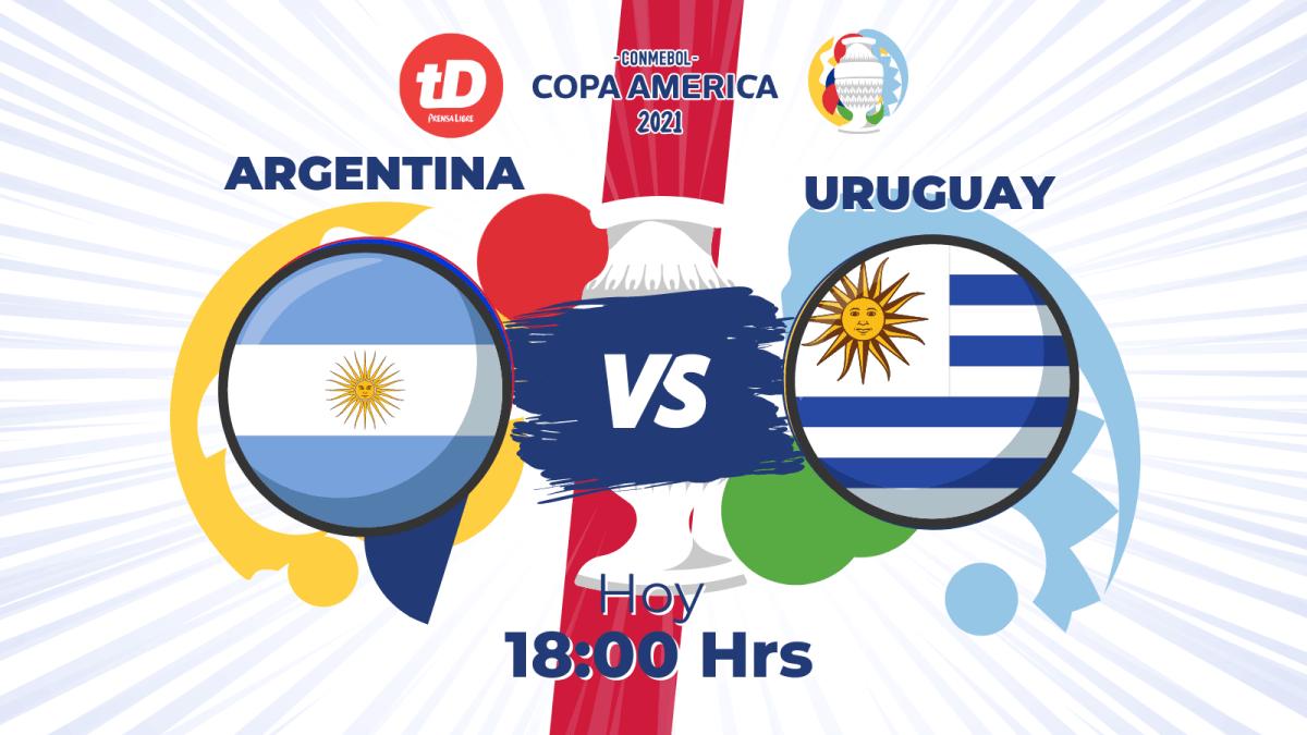 Estadísticas del partido Argentina 1-0 Uruguay