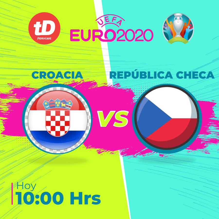 Estadísticas del partido Croacia vs. República Checa