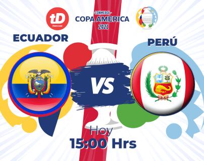 Las estadísticas del partido entre Ecuador y Perú