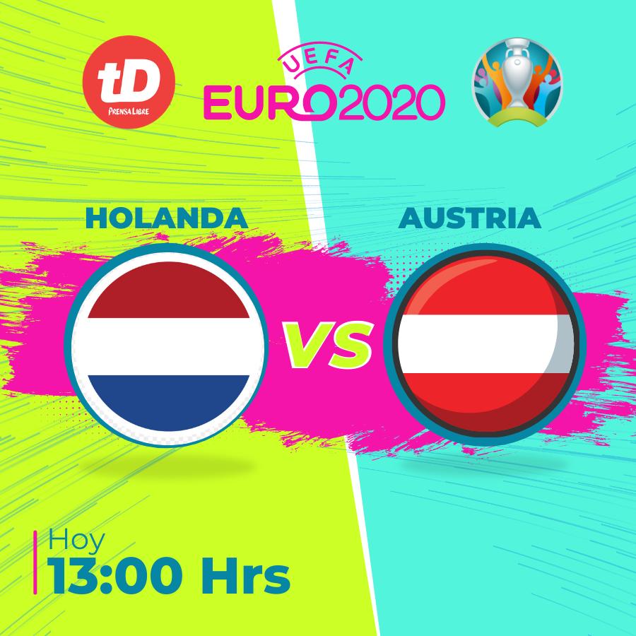 Estas son las estadísticas del juego Holanda vs. Austria