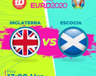 En Directo: Inglaterra vs. Escocia
