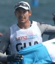 Juan Maegli participará en sus cuartos Juegos Olímpicos. Esta vez busca alcanzar una medalla en Tokio 2020. Foto Prensa Libre: Hemeroteca PL.