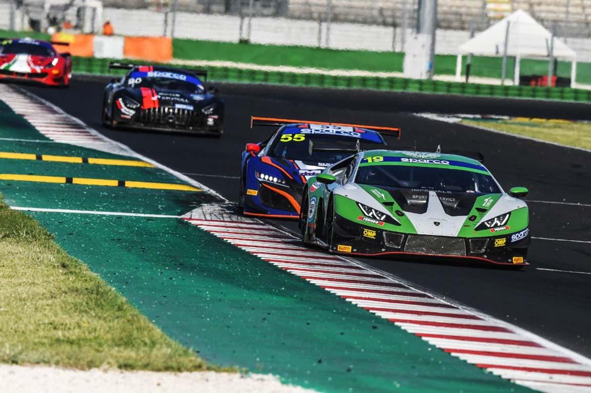 Mateo Llarena finaliza quinto en la segunda fecha del Campeonato Italiano GT Sprint 2021