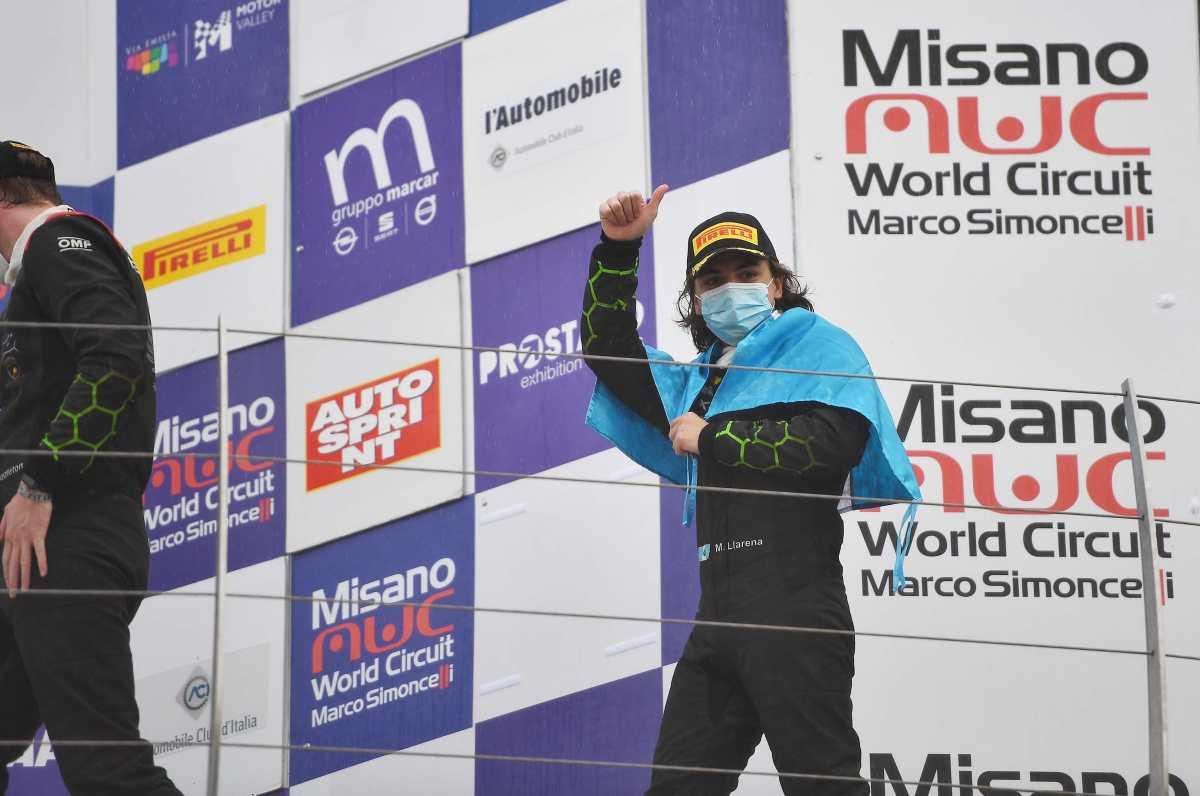 El piloto Mateo Llarena es incluido en el programa de jóvenes talentos de Lamborghini GT3
