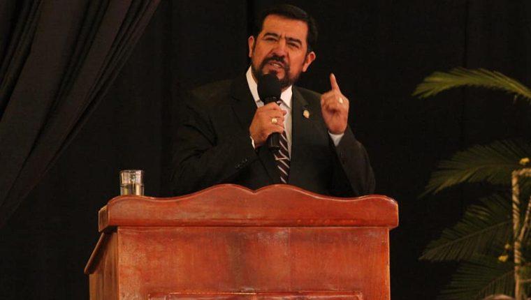 Miguel Ovalle, alcalde de Salcajá, Quetzaltenango, y presidente de la Anam. (Foto Prensa Libre: Hemeroteca PL)