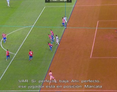Conmebol revela audio del VAR y la razón por la que anuló gol de Argentina contra Paraguay