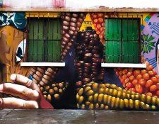 Murales en Chimaltenango