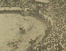 Imagen de la antigua plaza de toros ubicada en la zona 13. (Foto Prensa Libre: Hemeroteca PL)