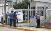 Pocas personas llegan al Hospital temporal Parque de la Industria la Ministra de Salud informa que el hospital se encuentra lleno de personas enfermas de Covid 19.  Fotograf'a. Erick Avila:                   19/04/2021