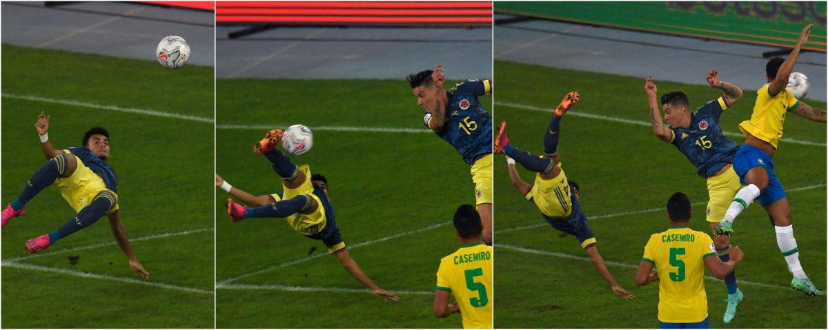 VIDEO. Esta fue la obra de arte del colombiano Luis Fernando Díaz ante Brasil en la Copa América