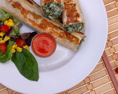 Interactivo: Coma almuerzos saludables durante un mes con estas recetas