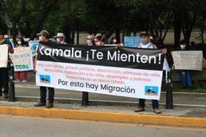 Visita de Kamala Harris a Guatemala origina manifestaciones y pronunciamientos de distintos sectores