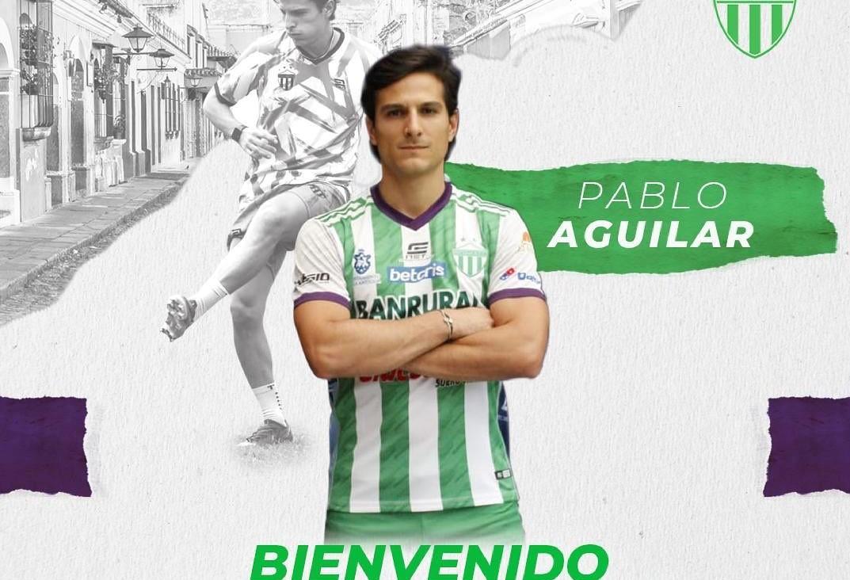 Antigua GFC confirma el regreso de Pablo Aguilar como refuerzo para el Apertura 2021