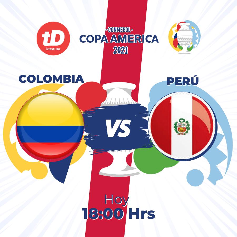 Estas son las estadísticas del partido Colombia vs. Perú