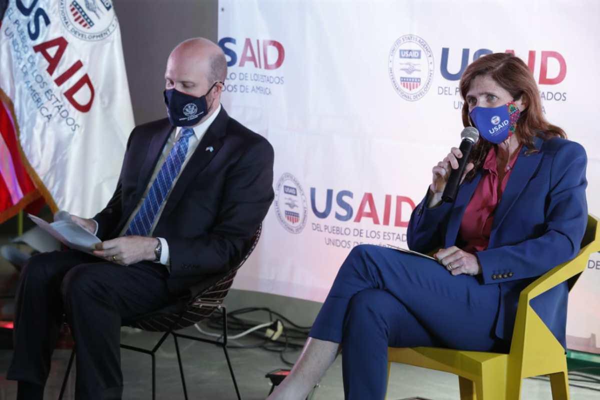 Samantha Power, administradora de USAID anunció programa para emprendedores (fondo tendrá US$37 millones)