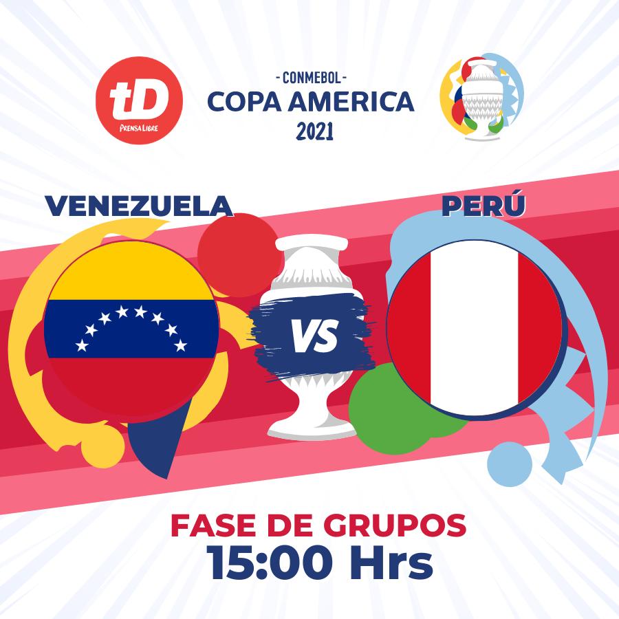 Estadísticas de Venezuela 0 – Perú 1