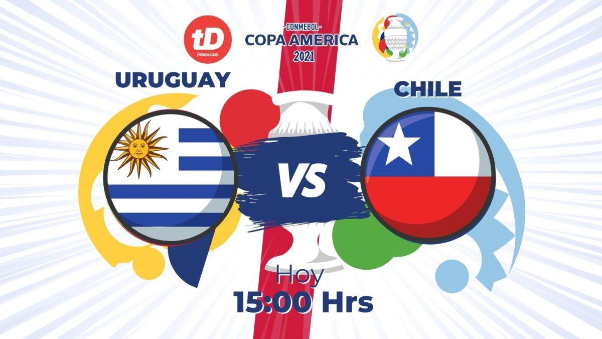 Estadísticas del partido entre Uruguay frente a Chile