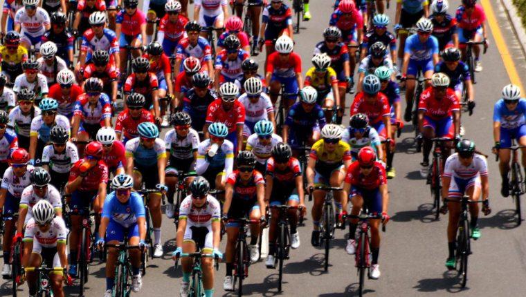 La vigésima Vuelta Ciclística Femenina Internacional a Guatemala da inicio este 9 de junio en Ciudad Vieja, Sacatepéquez. Foto Prensa Libre: Cortesía Fedeciclismo.