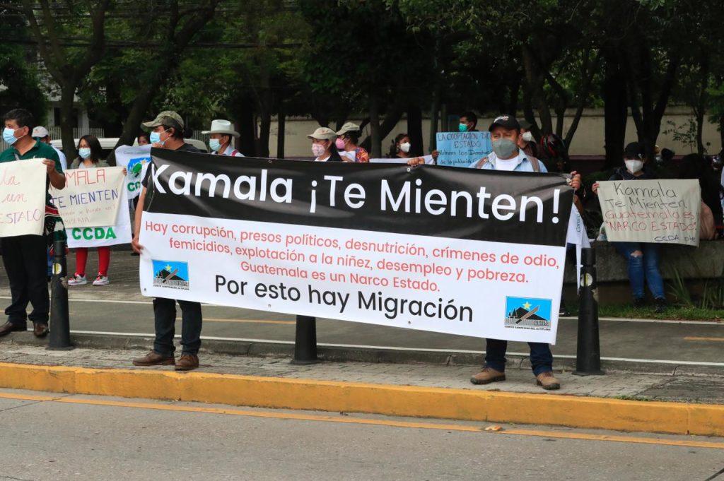 visita kamala harris guatemala