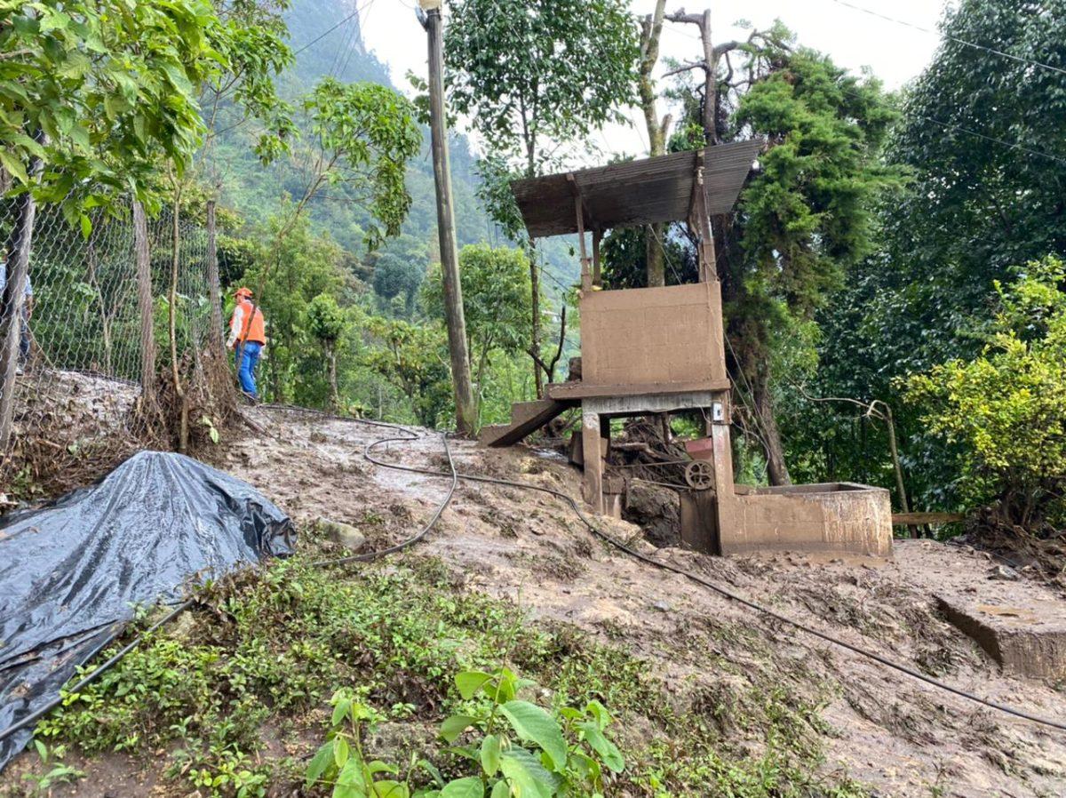 Conred reporta más de 4 mil personas afectadas por las lluvias de las últimas horas y advierte sobre incidentes en cinco departamentos