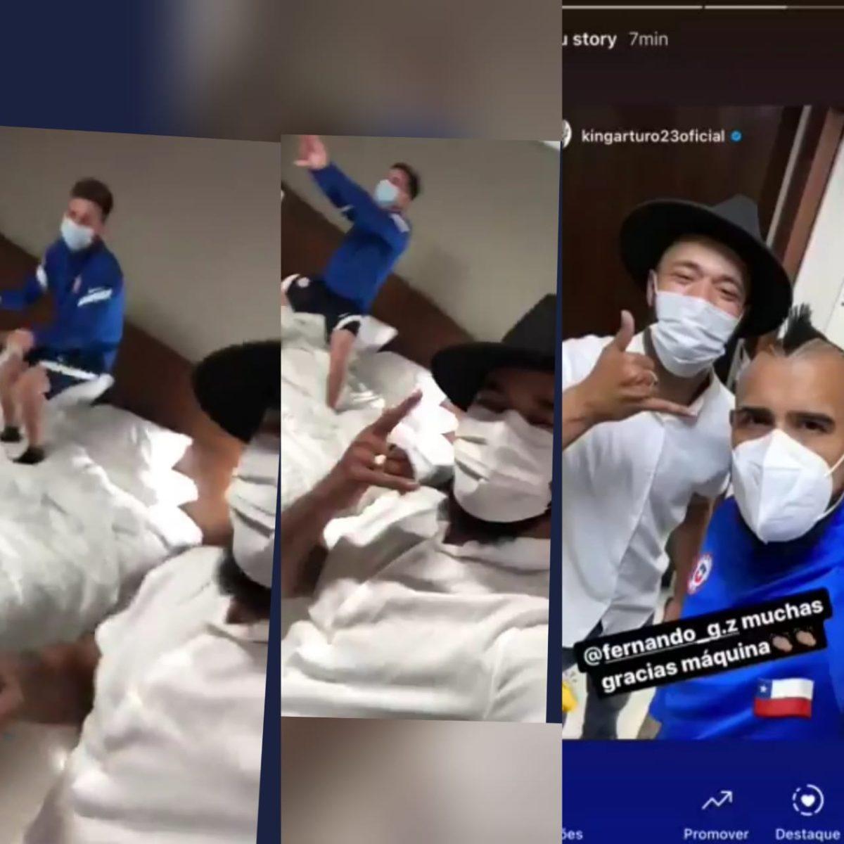 Se filtra video de como jugadores de Chile violaron el protocolo sanitario de la Copa América