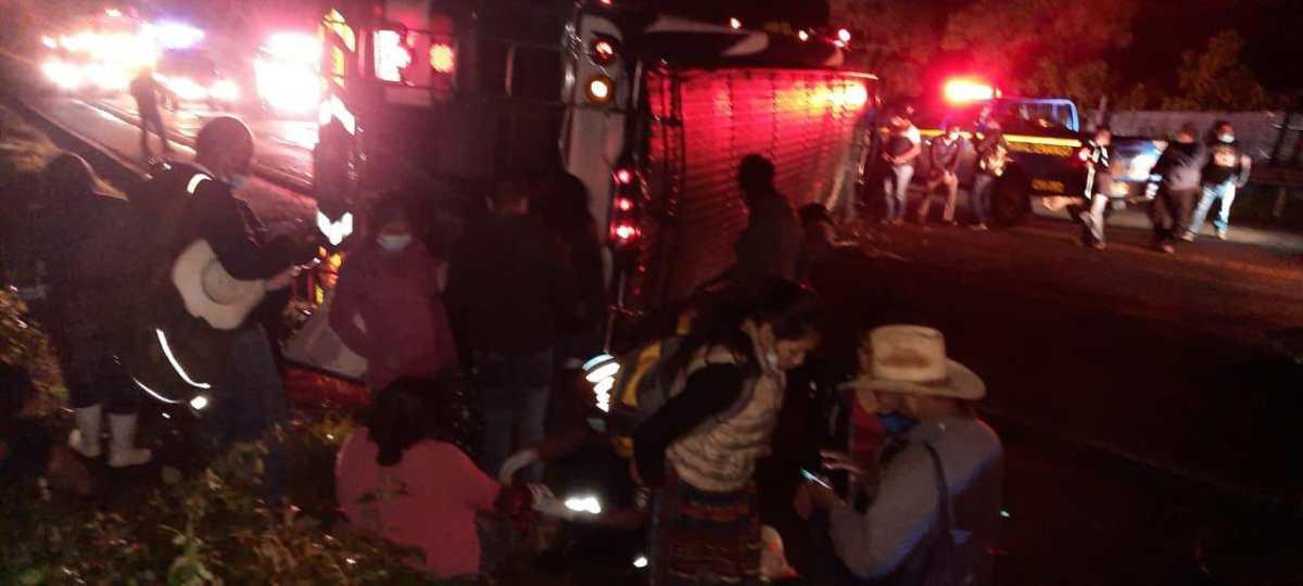Accidentes de tránsito dejan 21 heridos y dos fallecidos en las últimas horas