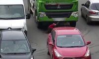 Accidente de tránsito en Ucrania