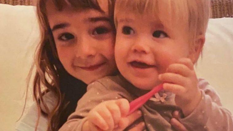 Las fotos de Olivia y Anna Gimeno Zimmerman. El cuerpo de la mayor de las hermanas fue hallado envuelto en una manta y atado al ancla de la lancha del padre, quien las había secuestrado. (Foto Prensa Libre: Instagram/bringbackhomeannaandolivia)