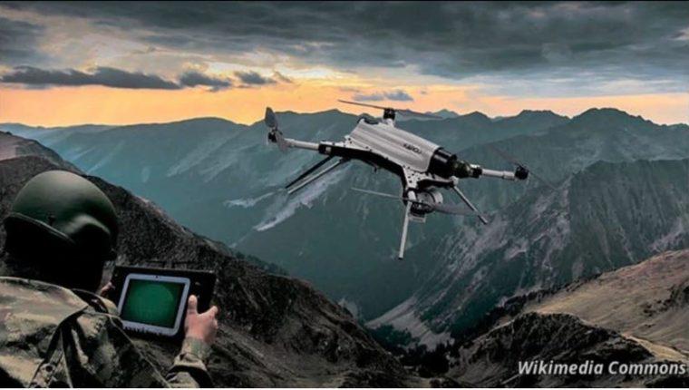 La ilustración muestra un dron Kargu de fabricación turca.
