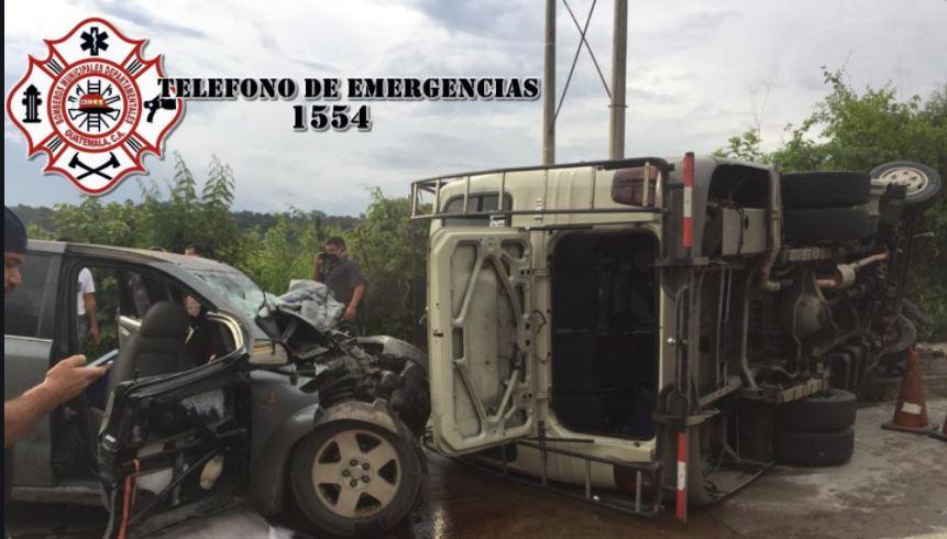 Dos personas fallecidas y al menos nueve heridos deja accidente de tránsito en la ruta al Atlántico