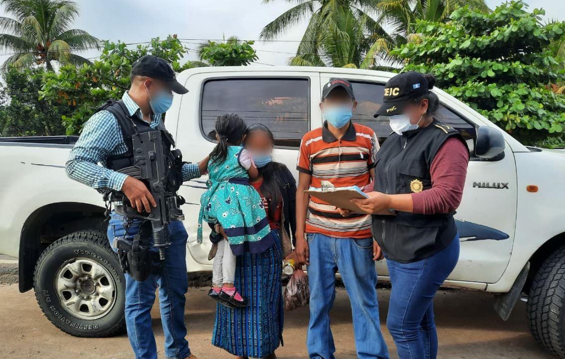 Localizan con vida en Chiapas, México, a la niña de 4 años que había sido raptada en San Marcos