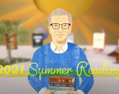 Estos son los 5 libros que recomienda Bill Gates: las reseñas y por qué los eligió