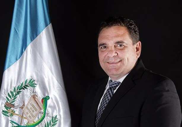 Boris España, diputado guatemalteco que fue sancionado por el Departamento de Estado de Estados Unidos, por corrupción. (Foto Prensa Libre: Congreso de Guatemala)