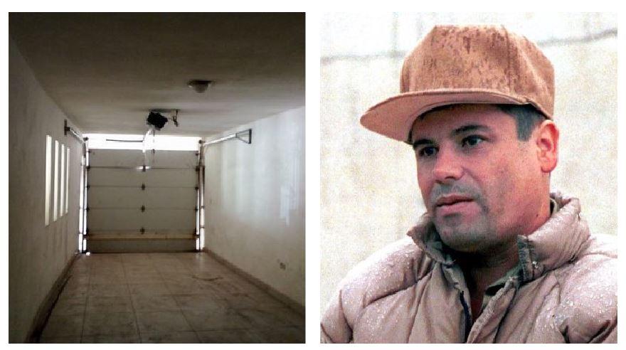 """Cómo es la casa de """"el Chapo"""" Guzmán que México rifará y que tiene un túnel de escape"""