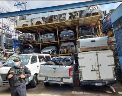 En 64 allanamientos por robo de vehículos, MP apenas logra la captura de siete personas