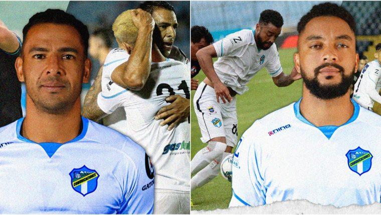 Los costarricenses Michael Umaña y Manfred Russell son las dos primeras bajas de Comunicaciones para el torneo Apertura 2021. Foto Prensa Libre: Club Comunicaciones.