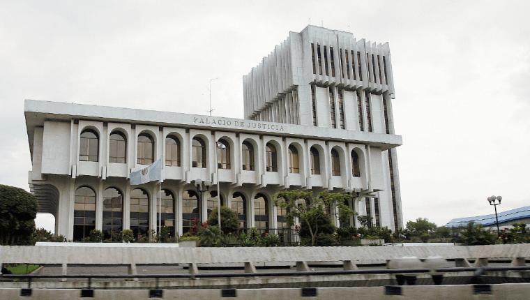 Sede de la Corte Suprema de Justicia. (Foto Prensa Libre: Hemeroteca PL)
