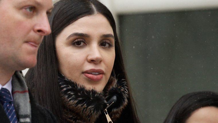 """La esposa de """"el Chapo"""" Guzmán se declara culpable de narcotráfico y blanqueo en EE. UU. (Foto Prensa Libre: AFP)"""