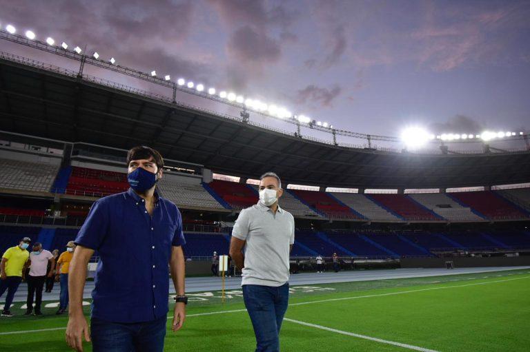 Tensa calma en Barranquilla en la víspera del juego Colombia vs Argentina
