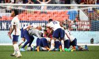 Estados Unidos festejó el título de la Liga de Naciones de Concacaf, después de vencer a México. (Foto Prensa Libre).
