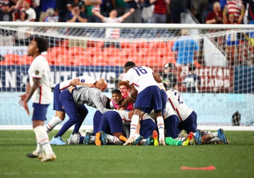 EEUU vence 3-2 a México en la primera final de la Liga de Naciones de Concacaf