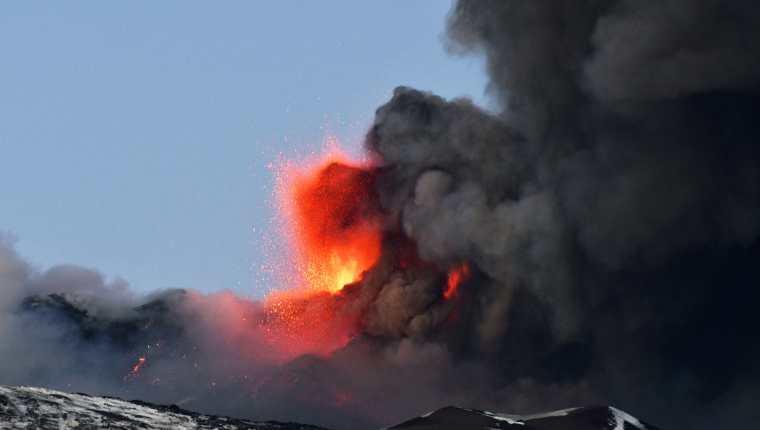 Se considera al volcán Etna como uno de los más activos de Europa. (Foto: Hemeroteca PL)