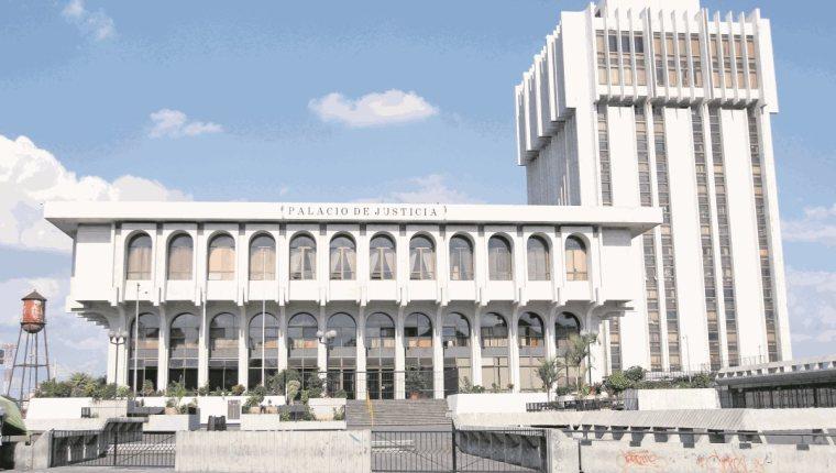 El covid-19 también impacto a las instituciones de justicia. Foto Prensa Libre: Hemeroteca.